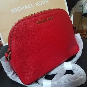 b0c1a42e5de0 ... kors WALLET New crossbody perfect Mother s Day gift Mk authent New  260  Crossbody michael AUTHENdome medium red ...